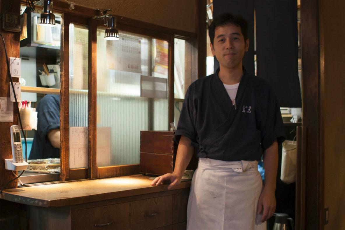 Yuji Sato, Chef. Tamai, saltwater eel restaurant