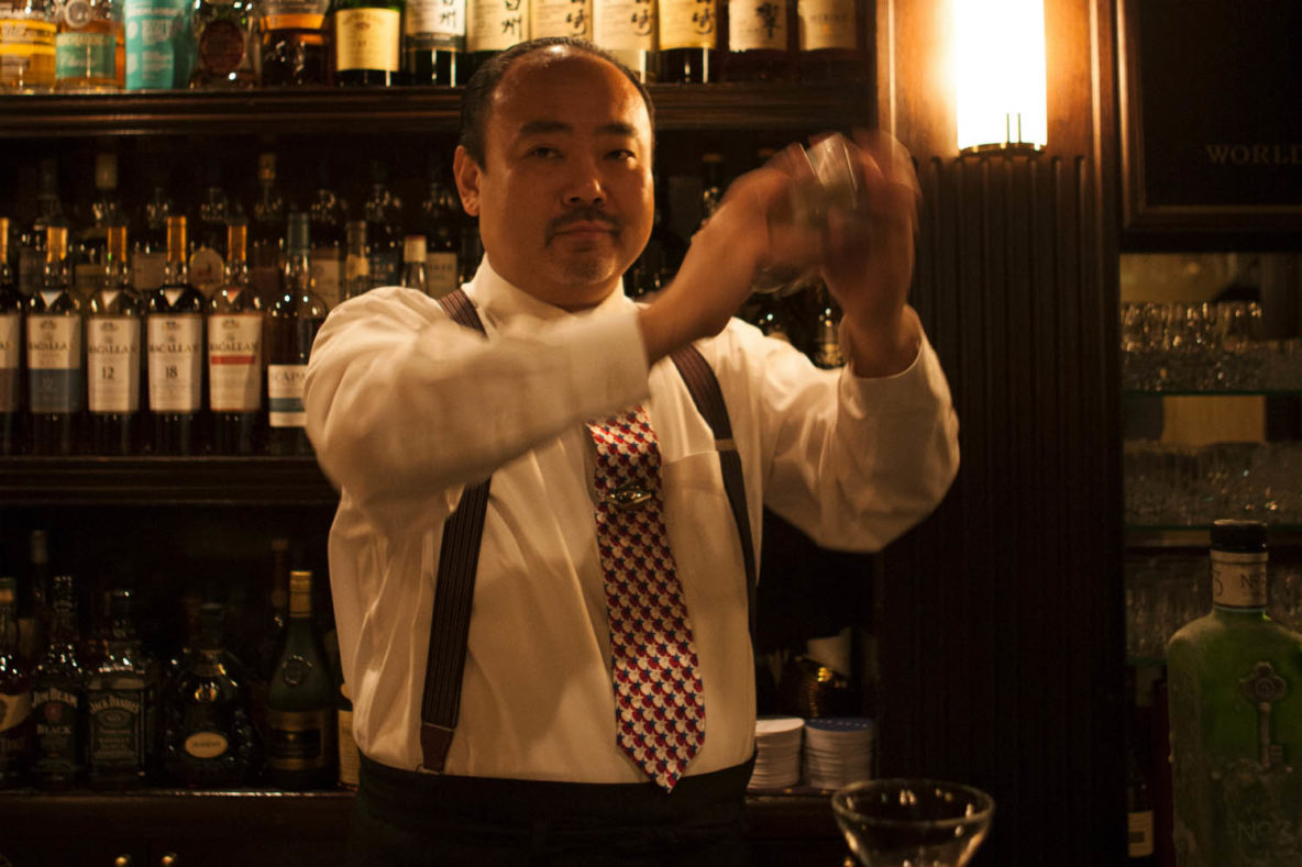 Hisashi Kishi, Bartender of Star Bar, legendary Ginza bar