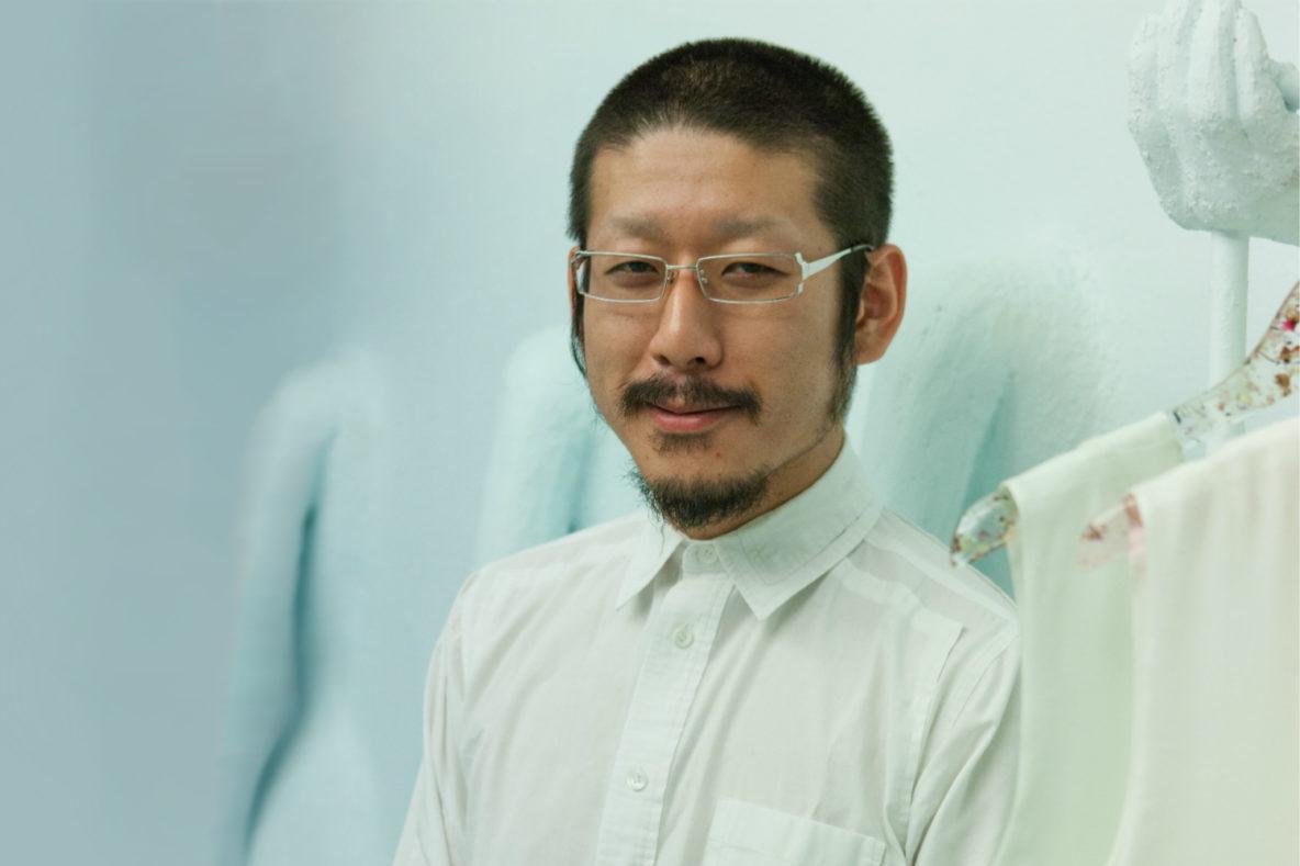 Anrealage fashion designer, Kunihiko Morinaga
