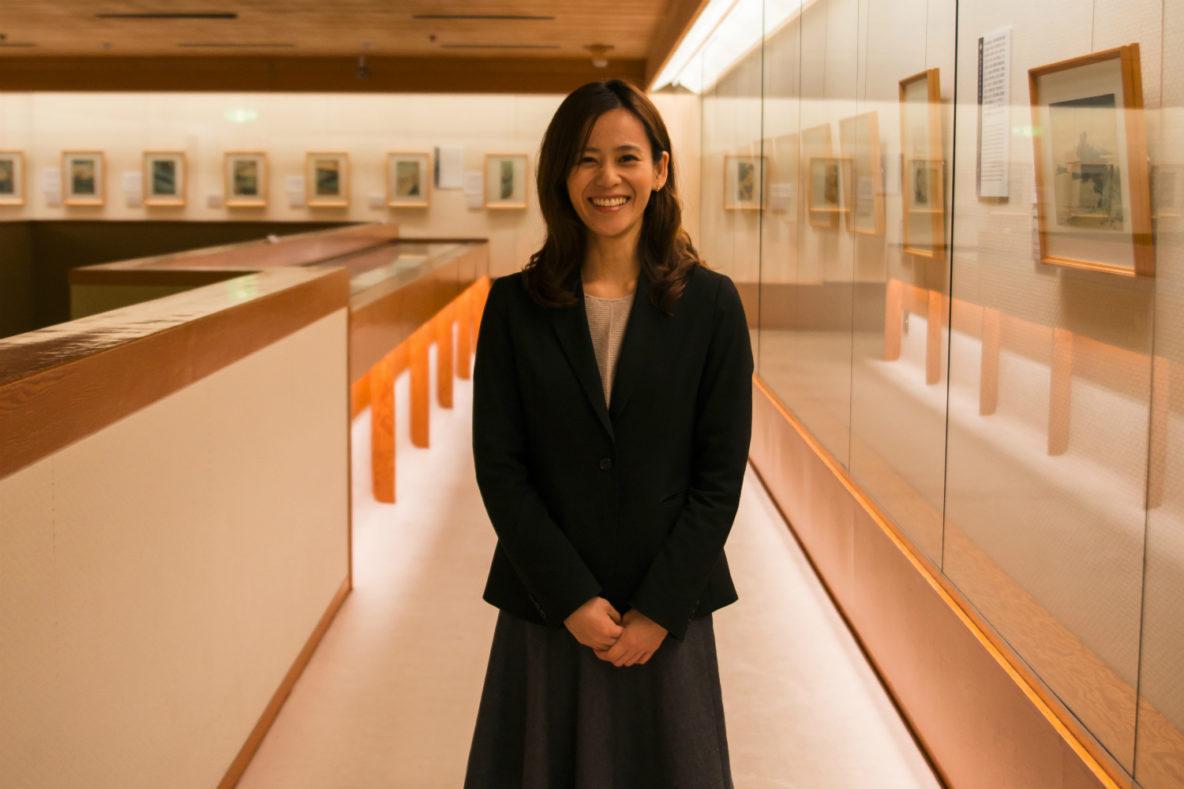 Ota Memorial Museum, Michi Akagi, Curator
