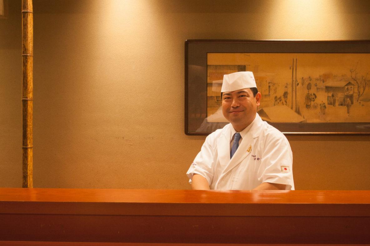 Nihonbashi Yukari, Kimio Nonaga Kaiseki Chef