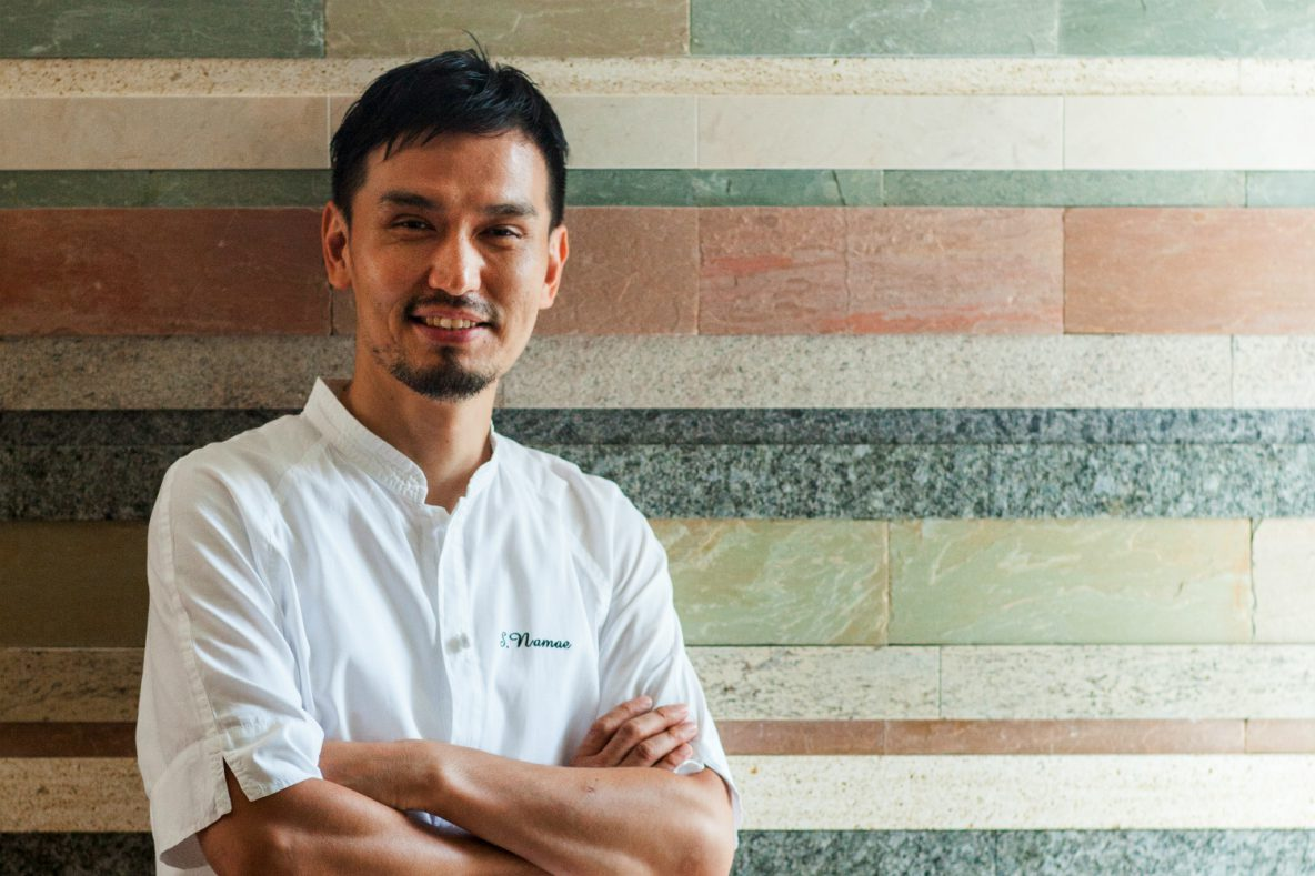 L'Effervescence, Franco-Japanese creations from a gentle genius chef, Shinobu Namae