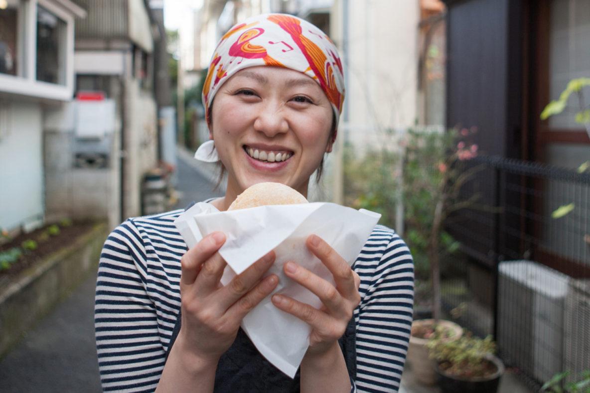 Haruna Toyoda, Baker at Haritts - Hand-made Doughnuts Shop