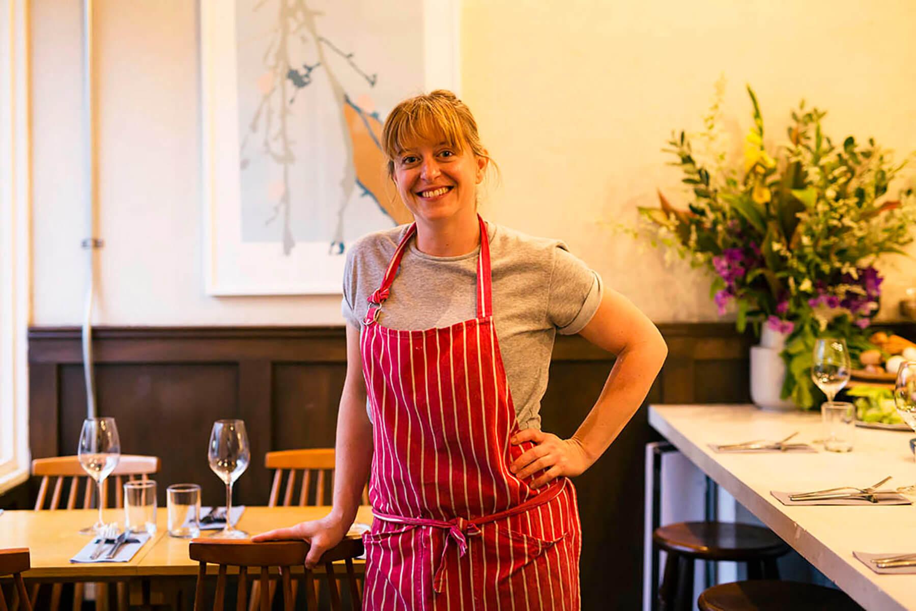 Chef Katy Cole, of Locale Meguro