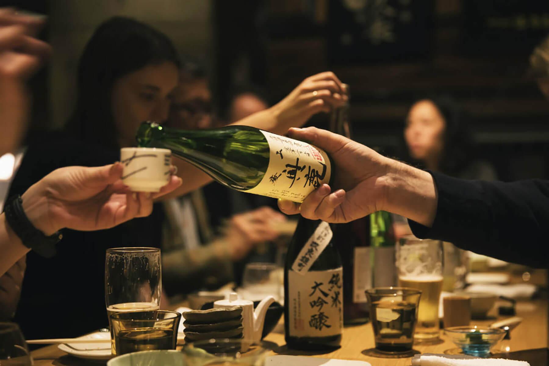Sake Pairing Event Tokyo
