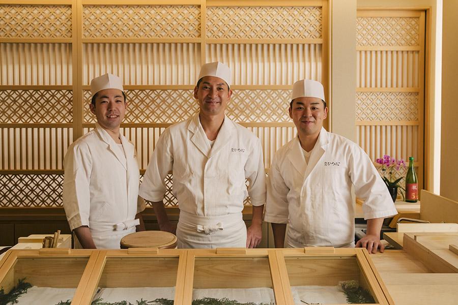 Sushidokoro Hiroshi staff